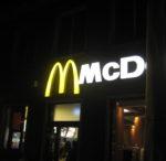 I. Sekt bei McDonald's von Tobias Steinfeld (Hausbesuch in Wesel)